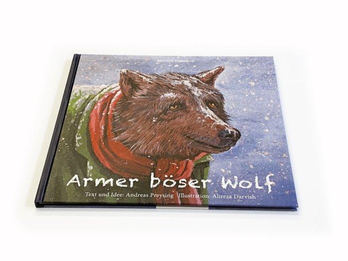 Armer böser Wolf. Eine kleine Weihnachstgeschichte mit einem sommerlichen Ende.