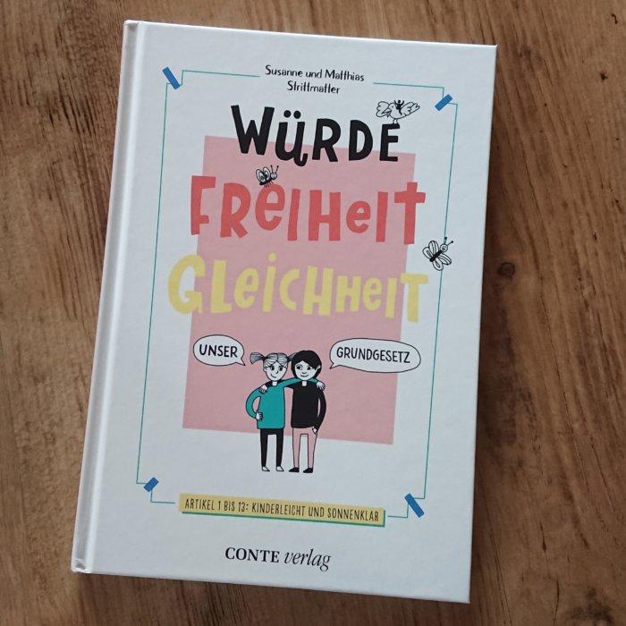Sachbuch für Kinder: Unser Grundgesetz.