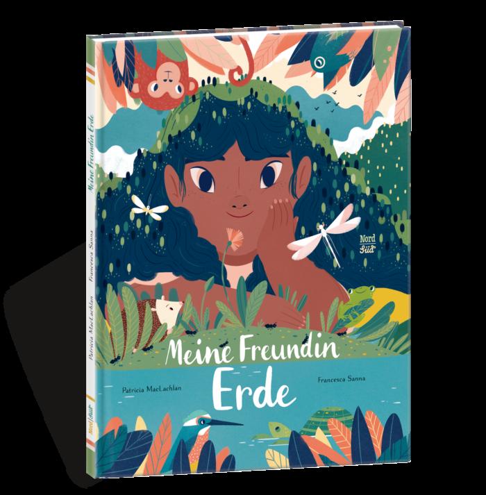 Bilderbuch Meine Freundin Erde: Mutter Erde als junges Mädchen