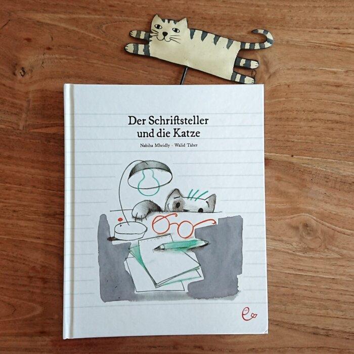 Bilderbuch: Der Schriftsteller und die Katze