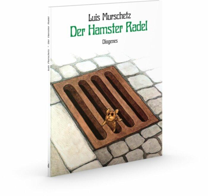 Cover des Bilderbuchs Der Hamster Radel von Luis Murschetz