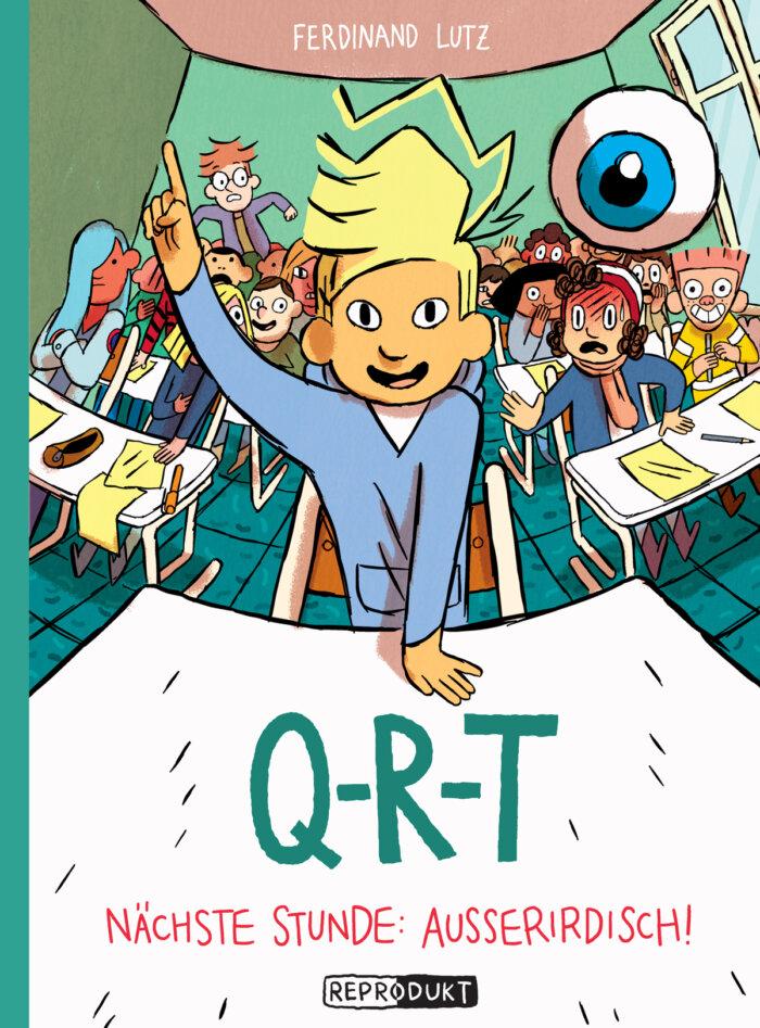 Kindercomic Q-R-T: Nächste Stunde Außerirdisch!